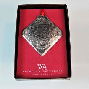 Wendell August Forge Ornament Nativity